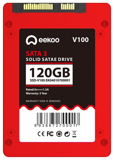 Ổ cứng SSD eekoo V100 – 120GB 2.5″ SATA III - Cẩm khê Online